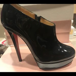 Christian Louboutin Patent leather designer Booty